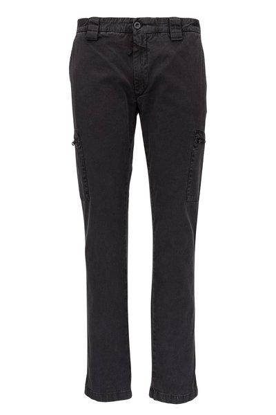 CP Company - Faded Black Stretch Gabardine Cargo Pant