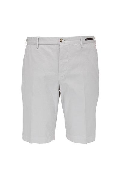 PT Torino - Stone Cotton Stretch Shorts