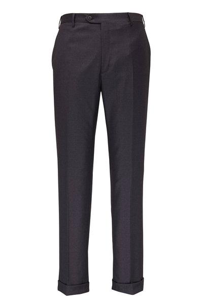 Brioni - Medium Gray Wool Slim Fit Dress Pant