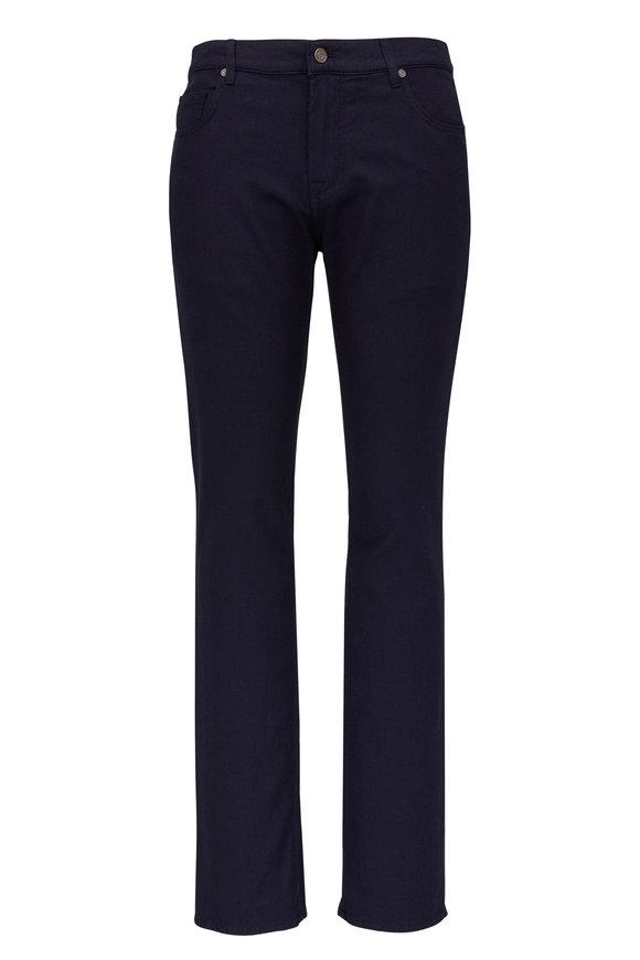 Baldessarini John Navy Blue Mid-Rise Slim Fit Jean