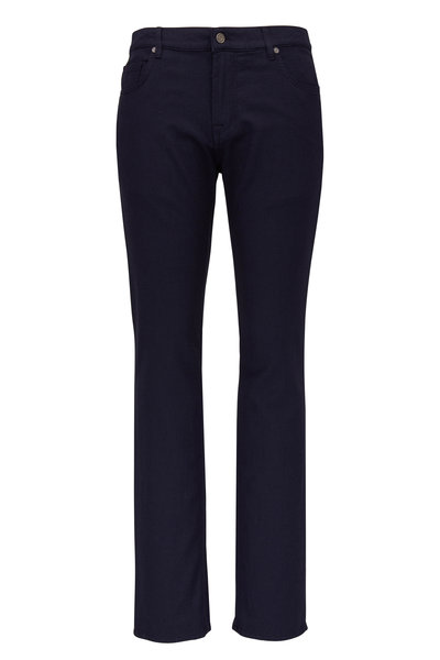 Baldessarini - John Navy Blue Mid-Rise Slim Fit Jean