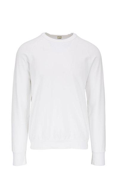 Swet Tailor - Suprese White Crewneck Sweatshirt