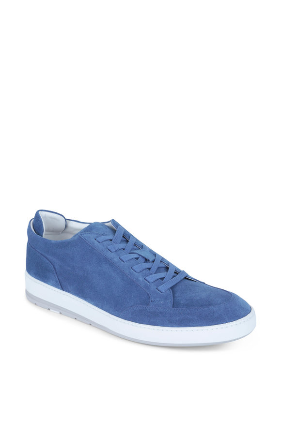 Heschung Break Blue Suede Sneaker