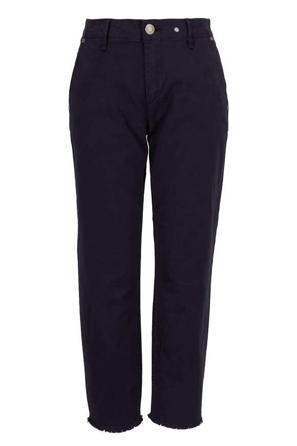 Rag & Bone Buckley Navy Stretch Cotton Chino