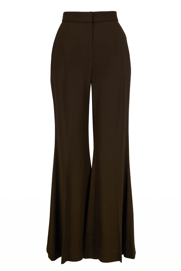 Rosetta Getty Loden Crop Flare Pant