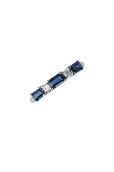 Kai Linz - 18K White Gold Sapphire & Diamond Ring
