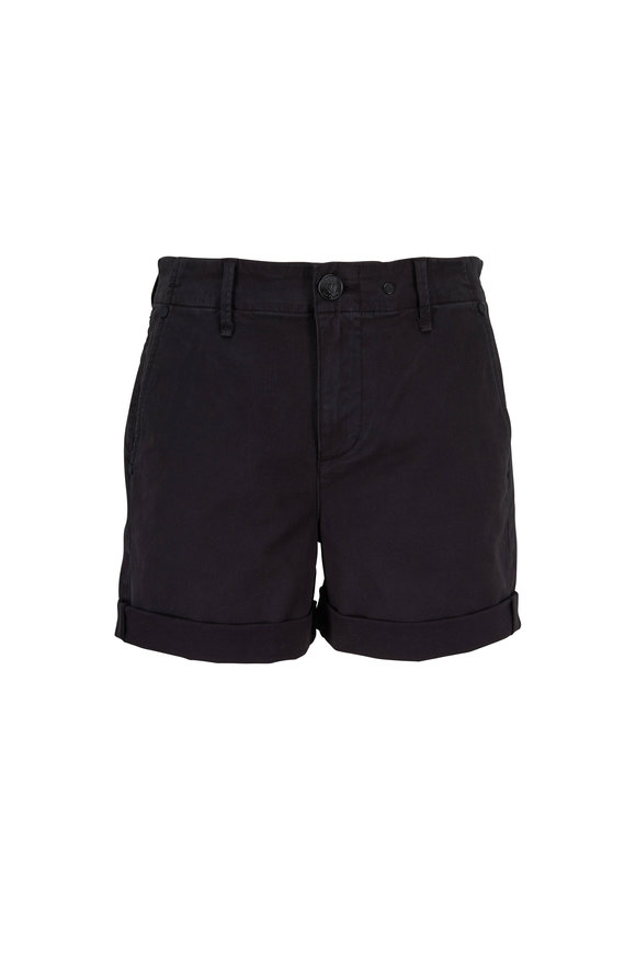 Rag & Bone Buckley Black Chino Shorts