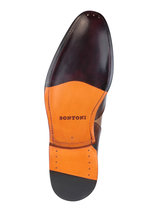 Bontoni - Rolando Chocolate Brown Leather Derby