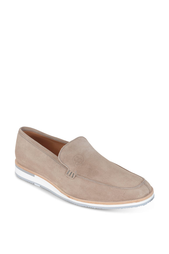 Heschung Rhodes Sand Suede Loafer