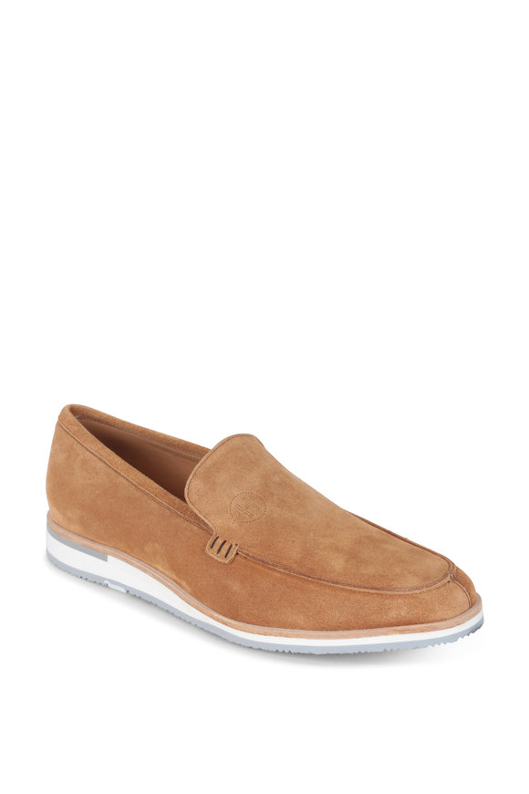 Heschung Rhodes Taupe Suede Loafer