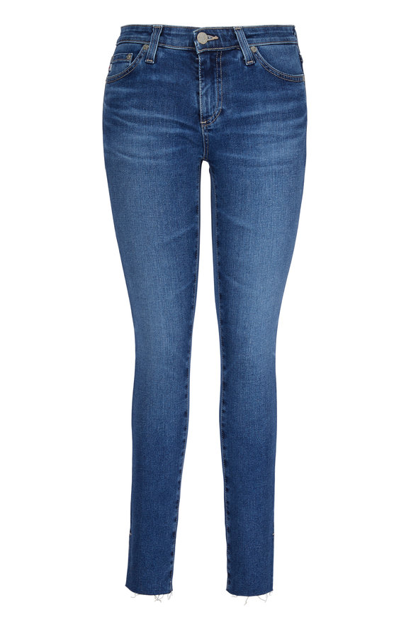 AG - Adriano Goldschmied The Legging Ankle 12 Year Fluid Split Hem Jean