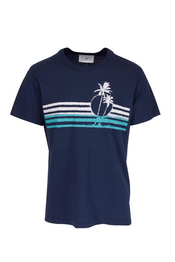 Sol Angeles Costa Azul Indigo Blue T-Shirt