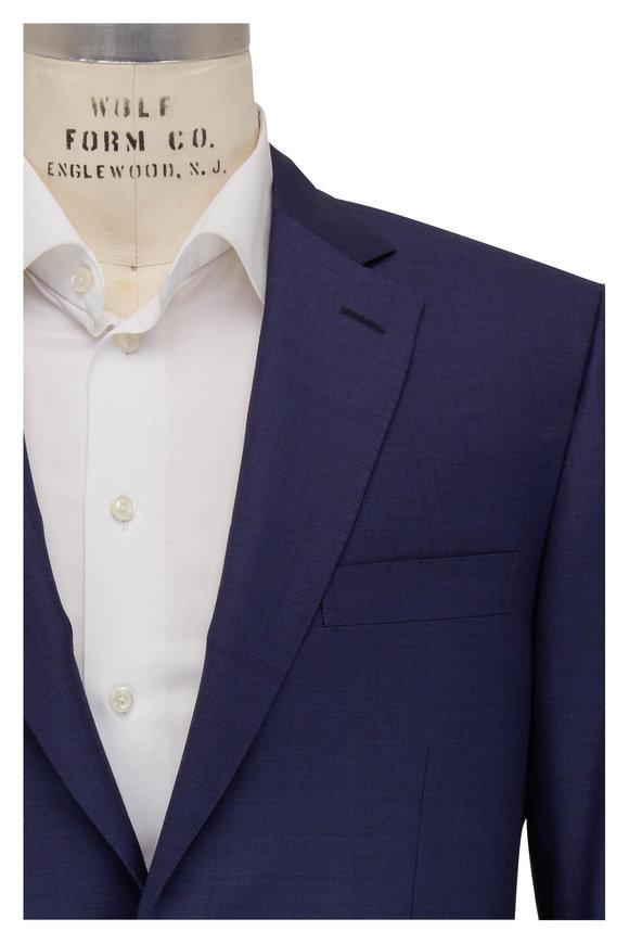 Brioni Ventiquattro Navy Blue Wool Suit