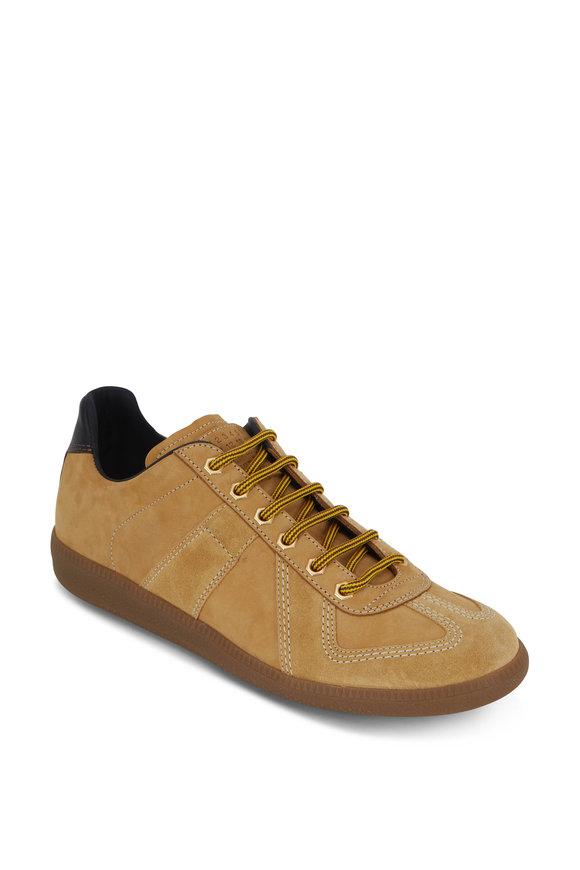 Maison Margiela Replica Camel Suede Sneaker