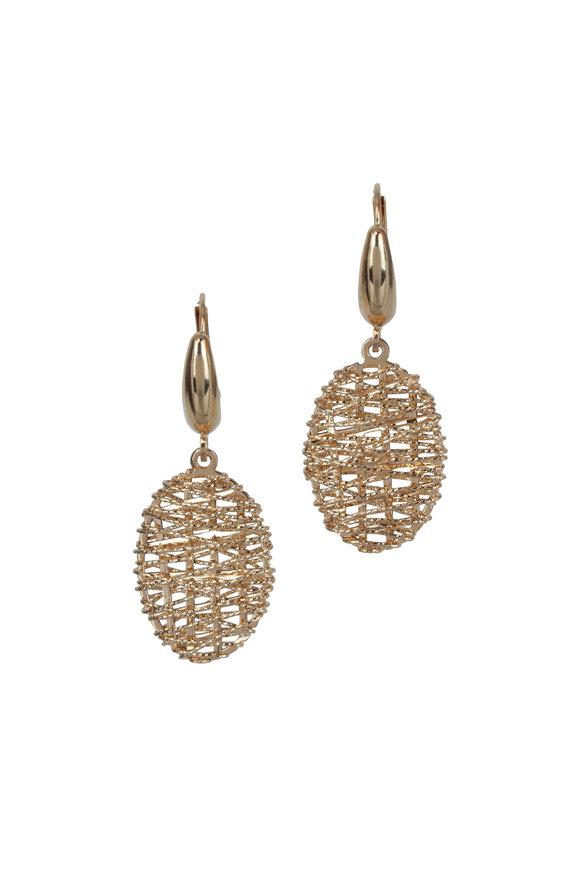 Alberto Milani 18K Yellow Gold Duomo Earrings