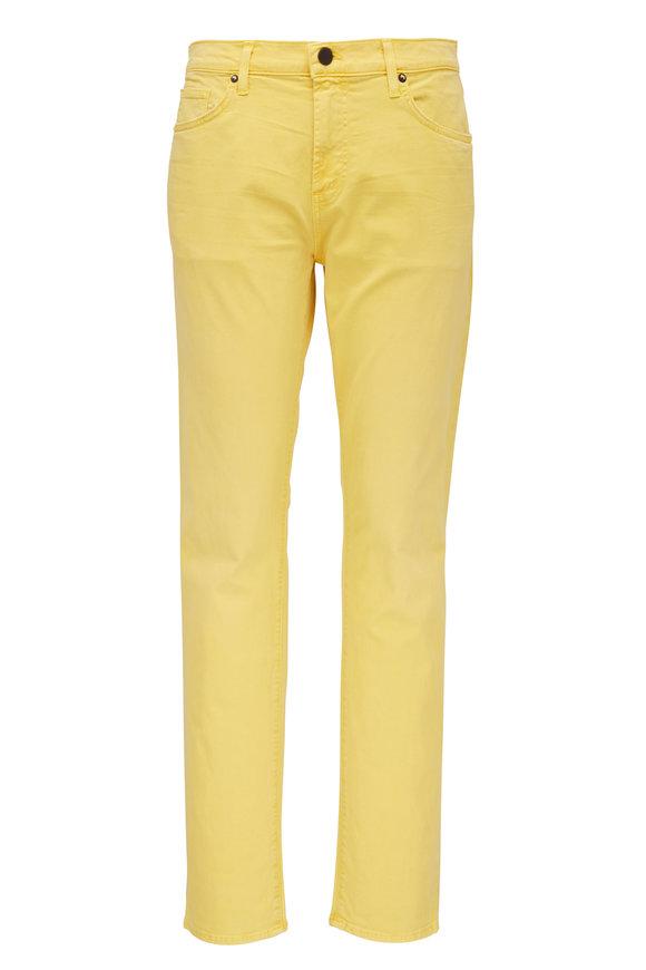 J Brand Tyler Yellow Slim Fit Jean