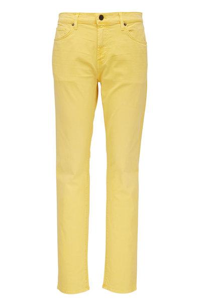 J Brand - Tyler Yellow Slim Fit Jean
