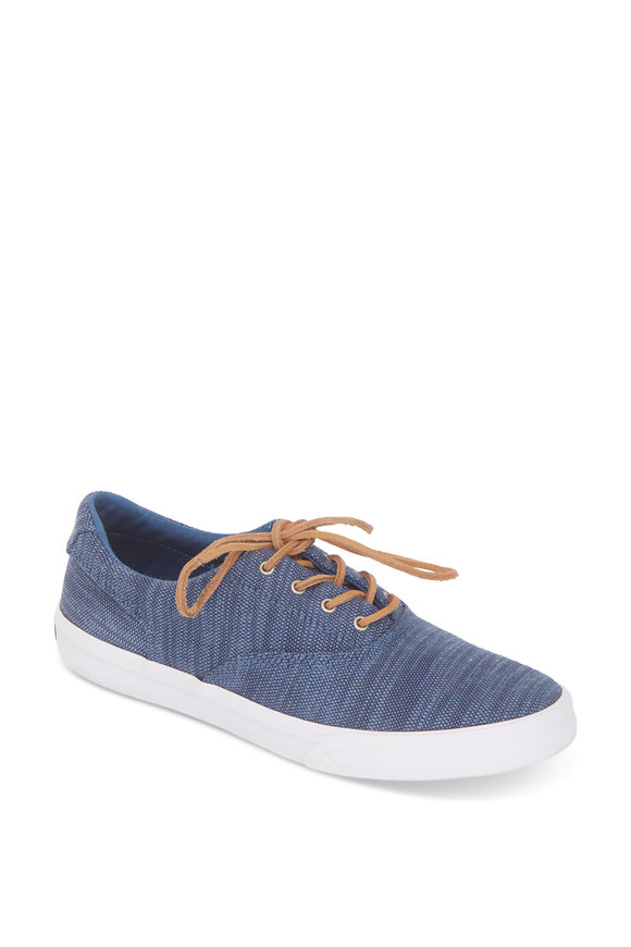 Sperry Striper 2 CVO Baja Blue Canvas Sneaker