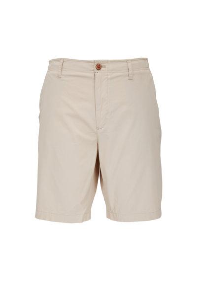 Tailor Vintage - Pumice Linen & Cotton Slim Fit Shorts