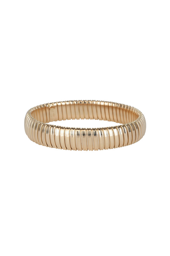 Alberto Milani 18K Yellow Gold Bangle