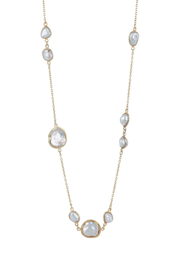 Loren Jewels Sterling Silver Freshwater Pearl Necklace