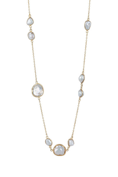 Loren Jewels - Sterling Silver Freshwater Pearl Necklace