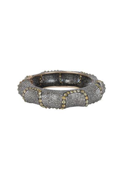 Loren Jewels - 14K Gold & Silver Champagne Diamond Bracelet