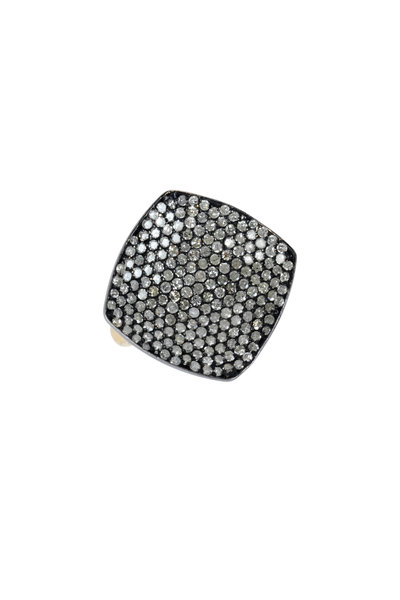 Loren Jewels - 14K Gold & Sterling Silver Pavé Ring