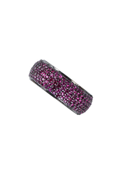 Loren Jewels - 14K Gold & Sterling Silver Ruby Band