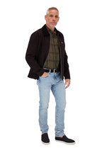 BLDWN - Duncan Solid Black Cotton Jacket