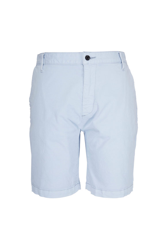 7 For All Mankind Blue Summer Chino Shorts