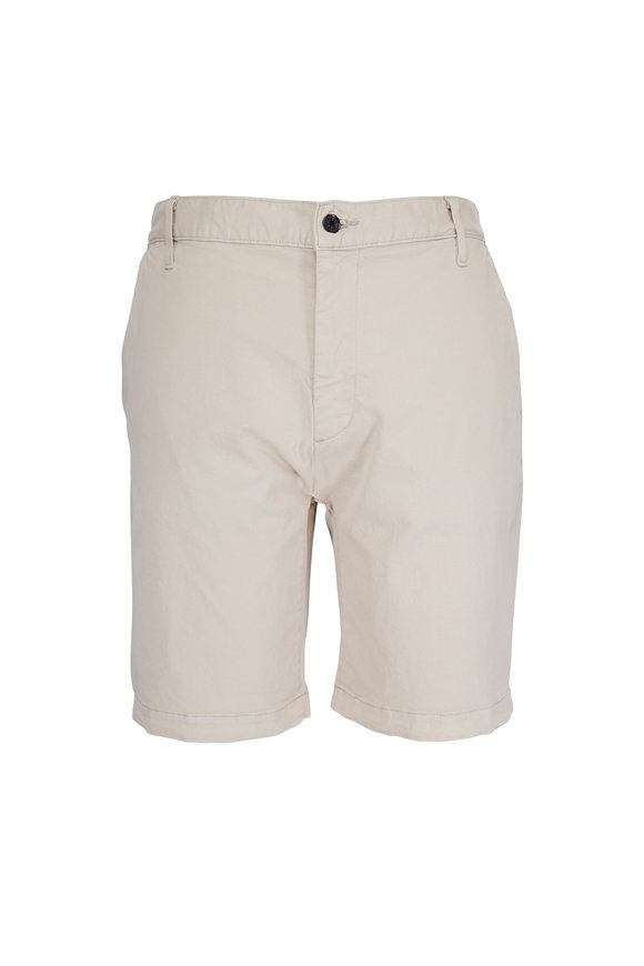 7 For All Mankind White Onyx Chino Shorts