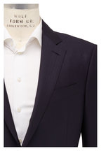 Ermenegildo Zegna - Navy Blue Tonal Striped Wool Suit