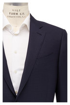 Ermenegildo Zegna - Multiseason Navy Blue Textured Wool Suit