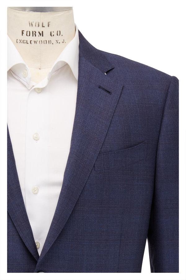 Ermenegildo Zegna Trofeo Navy Blue Wool Suit