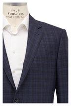 Ermenegildo Zegna - Teal & Brown Glencheck Wool Sportcoat