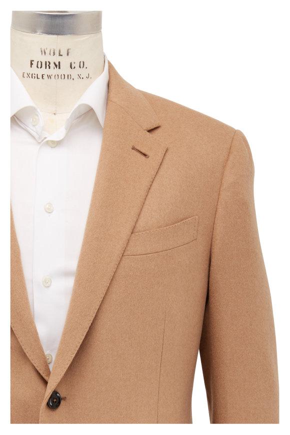 Ermenegildo Zegna Natural Camel Twill Sportcoat