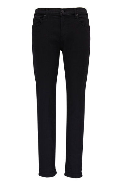 J Brand - Tyler Seriously Black Tapered Jean