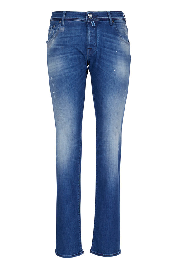 Jacob Cohen  Slim Distressed Jean