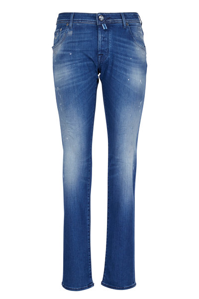 Jacob Cohen - Slim Distressed Jean