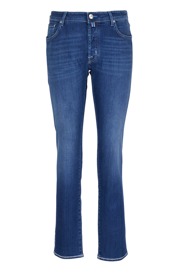 Jacob Cohen  Regular Mid-Rinse Jean