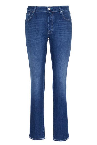 Jacob Cohen - Regular Mid-Rinse Jean