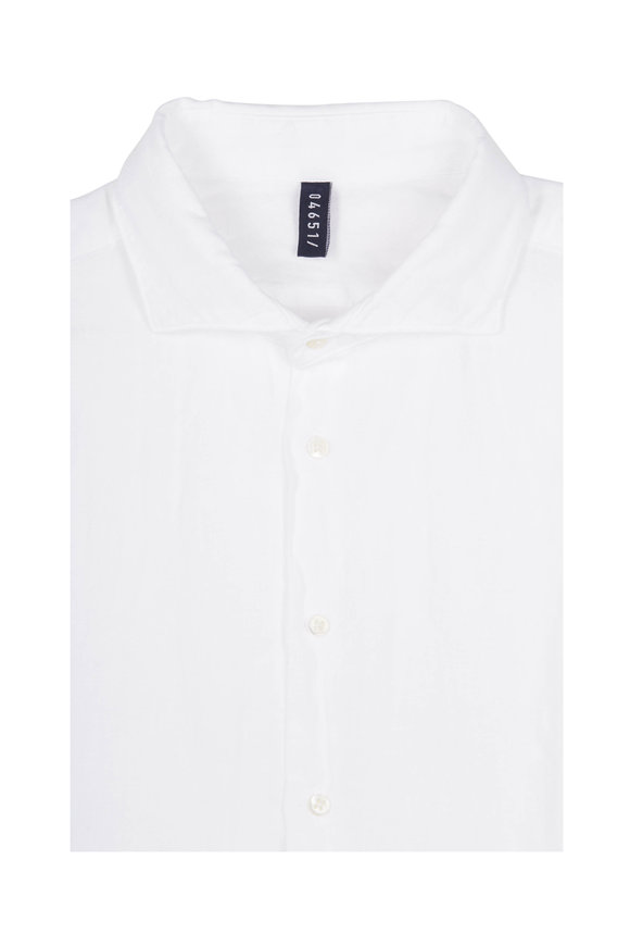 04651/ White Linen Sport Shirt