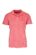Orlebar Brown - Watermelon Terry Polo