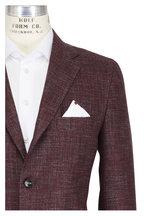 Kiton - Red & Multicolor Cashmere Sportcoat