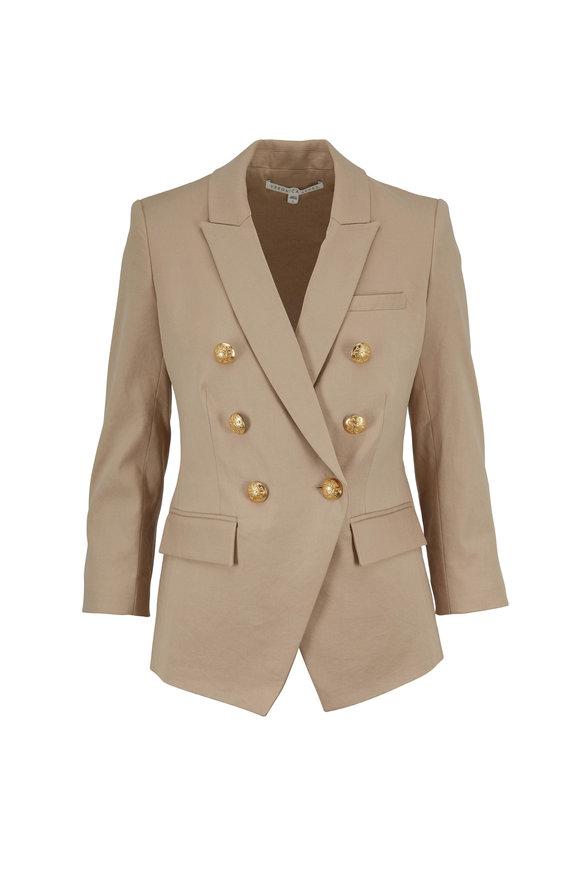 Empire Khaki Linen & Cotton Dickey Jacket