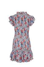Veronica Beard - Cici Watercolor Floral Multi Dress