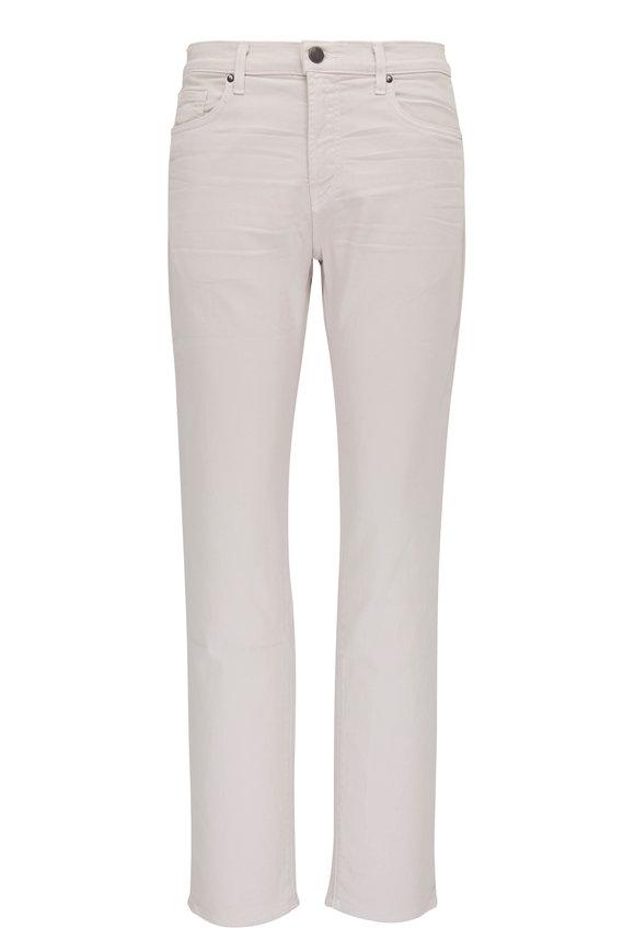 J Brand Kane Keckley Strah Off-White Straight Leg Jean
