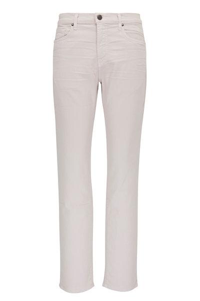 J Brand - Kane Keckley Strah Off-White Straight Leg Jean