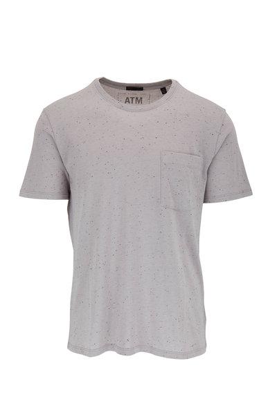A T M - Gray Combo Pocket T-Shirt